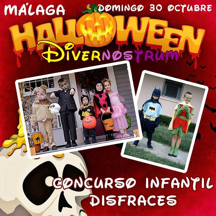 Fiesta Infantil de Halloween en Málaga
