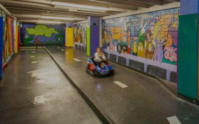 Pista de karting para niños en nuestro centro de Málaga